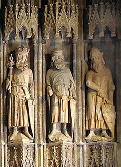 King Arthur, Godfrey de Bouillon, and Charlemagne - The Nine Worthies - Cologne