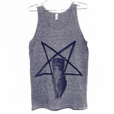 Lucifurr Tank Top Select Size by BurgerAndFriends on Etsy, $25.00