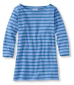 #LLBean: French Sailor's Shirt, Three-Quarter-Sleeve Boatneck