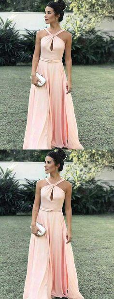Cheap Great Pink Prom Dresses Elegant Pink Long Prom Dress With Key Hole Cheap Prom Dresses, Prom Dresses Pink, Prom Dresses Long Prom Dresses, Prom Dresses Prom Dresses 2019 Prom Dresses Long Pink, Pink Party Dresses, Simple Prom Dress, Dresses Short, Long Prom Gowns, Prom Dresses With Sleeves, A Line Prom Dresses, Dress Prom, Formal Gowns