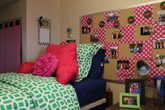 Erin and Emily's room in Schurz Hall, 2013.