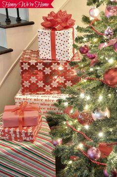 Christmas Decor & Home Tour // Honey We're Home