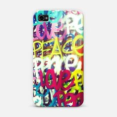 Peace & Love   Love! Personalize your #iPhone and #Samsung Galaxy device case using Instagram, Facebook and personal photos on #Casetagram