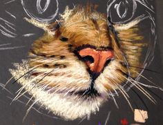 Ever struggled with painting your cats muzzle? Cath Ingles makes it look easy in this lesson now available ArtTutor as part of our Pastels Animal Module