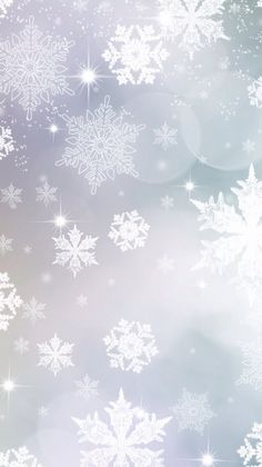 Snow Flakes Snowflake Wallpaper Christmas Iphone 6 Background