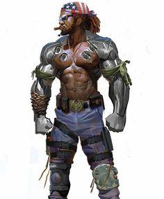Featured artist: marconelor  #jax #mortalkombat #videogames #games #scifi #afrofuturism