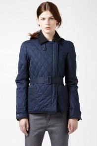 Quilted Jacket With Leather Details from Lacoste