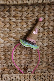 Ice Cream Party Headband