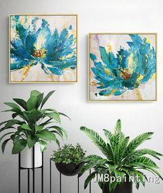Valentines Decor Original Flower Acrylic Painting Palette knife Extra Large Floral textured gold bule Wall art Pictures cuadros abstractos in 2019 Acrylic Painting Canvas, Acrylic Art, Painting Frames, Canvas Art, Pour Painting, Painting Prints, Easy Flower Drawings, Drawing Flowers, Images D'art