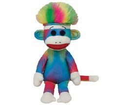 ソックモンキー M rainbow レインボー ty アメリカトイ キッズ モンスター sock monkey ROOM - my favorites, my…