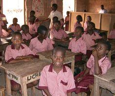 Corruption in Nigeria Government   Pupil Ajegule Grammar school. Photo: Opeyemi Giwa