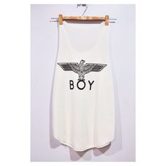 American Eagle BOY London Tank Top Woman White Cream T-Shirt Tee Shirt Singlet Vest BUY 2 GET 1 Free by pingypearshop on Etsy https://www.etsy.com/listing/216519473/american-eagle-boy-london-tank-top-woman