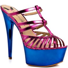 Penny loves Kenny..., love the style, love the sparkle, love the colors... I think I may need these on my feet.  :)