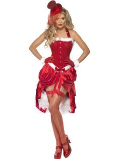 Santa Baby Burlesque Costume You will certainly have heads turning in this sexy Santa Baby Burlesque Costume, a sultry twist on the usual Miss Santa Costume. If you've been good this year then this costume is not for you. Funny Christmas Costumes, Cute Christmas Outfits, Halloween Outfits, Womens Christmas, Santa Christmas, Halloween Cosplay, Halloween Costumes, White Christmas, Santa Costumes