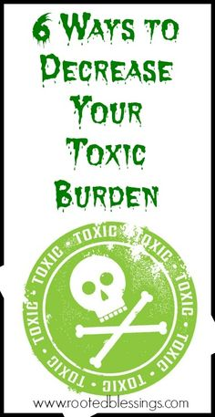 6 Ways to Decrease Your Toxic Burden