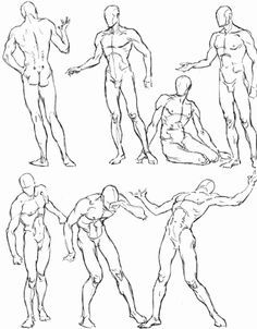 Free for personal use Male Figure Drawing Poses of your choice Male Figure Drawing, Figure Sketching, Figure Drawing Reference, Body Drawing, Anatomy Reference, Art Reference Poses, Life Drawing, Gesture Drawing, Drawing Art