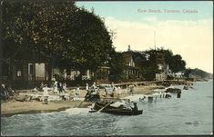 Kew Beach, Toronto, 1910...