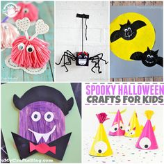 Spooky #Halloween Crafts for Kids by @thenerdswife