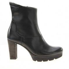 Nieuw Paul Green 7841 Enkellaarzen Zwart Leer online kopen bij Boots Shoes