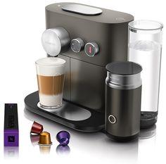 Nespresso Magimix Expert & Milk Nespresso Magimix Expert & Milk: Nieuwe Nespresso machine met melkfunctie Met de Nespresso Expert van Magimix maak jij de allerheerlijkste koffie gewoon thuis! Deze vernieuwde machine heeft de Aeroccino 3 waardoor jij van een sterke espresso een verrukkelijke cappuccino maakt met het heerlijkste melkschuim. De Nespresso Magimix Expert & Milk heeft de mogelijkheid om maar liefst vier kopgroottes! Naast de standaard espresso ristretto en lungo biedt deze machine…
