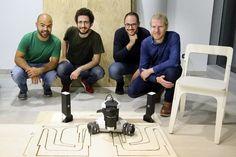 We run through the new robotic CNC machine from Springa and meet founder Lorenzo Frangi. Cnc Wood, Cnc Machine, Cnc Router, Robot, Workshop, Tools, Diy Projects, Furniture, Design