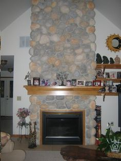 Vent Free Gas Fireplace, Fireplace Stone, Wall Mount, Restoration, Restore, Building, House, Google Search, Home Decor