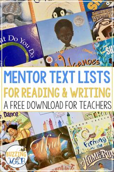 I would pull some of these mentor texts when teaching students about expository writing. Writing Mentor Texts, Mentor Sentences, Expository Writing, Narrative Writing, Writing Lessons, Fiction Writing, Writing Ideas, Math Lessons