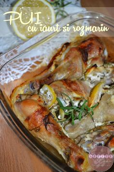 Pui cu iaurt si rozmarin - RETETE DUKAN Dukan Diet, Carne, Food And Drink, Low Carb, Chicken, Meat, Cooking, Recipes, Low Carb Recipes