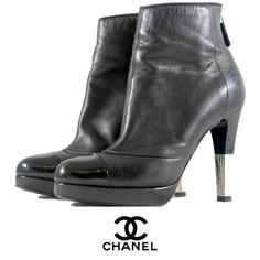 These Chanel boots are perfect for the holiday season!  To purchase, call (615) 732-3547. We ship! Featured items: Chanel boots size (8) $648 - #nashville #consignment #flipnashville #chanel