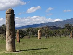 Parque Arqueológico de Monquirá El infiernito - Villa de Leyva, en el departamento de Boyacá Colombia.