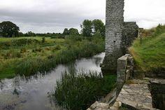 Castle Trim in County Trim, Ireland.