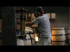 """▶ Crazy for the Burn: The Craft of Making Toasted Head Barrels - YouTube. """"Toasted Head wine takes its name from the age-old practice of toasting the inside of the barrel heads with fire, which helps create the rich flavor in our wines"""""""