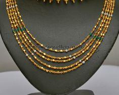 Fancy Chains Gold Chandra Haar