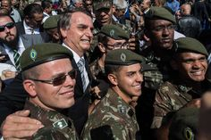 Brazils Military Strides Into Politics by the Ballot or by Force by ERNESTO LONDOÑO and MANUELA ANDREONI
