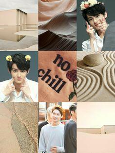 Jun Moodboard #Wen #Junhui #WenJunhui #Jun #SVT #SEVENTEEN #kpop #Moodboard #Wallpaper #nude #beige #aesthetic