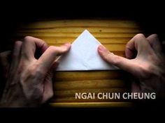 Origami Simple Boat (Tutorial)