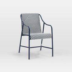 "Mast Bistro Chair - Crossover | west elm - 24.75""w x 21.25""d x 33""h."