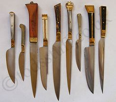 Medieval Eating Knives | Tod's Stuff