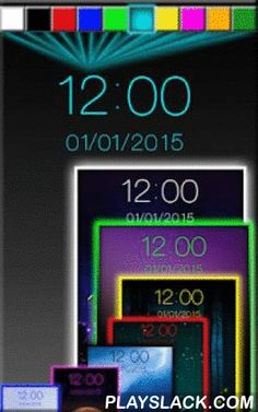 """Night Digital Clock  Android App - playslack.com , Night Digital Clock allows you to find the ideal digital clock theme among all the fun and innovative designs of time and date widget. Are you looking for a """"digital clock and date widget"""" that can look soothing at all times and that can inspire serenity in you? If so, try this """"digital clock black"""", blue or in any other color and let the subtle neon glow make you fall in love with your phone or tablet. No other """"beautiful clock widget"""" has…"""