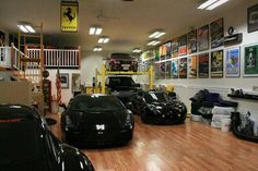 A dream garage. I love the loft!
