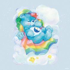 Care Bears: Classics by American Greetings on NeonMob Care Bears Vintage, Funshine Bear, Care Bear Party, Bear Wallpaper, Rainbow Brite, American Greetings, Bear Art, Cute Wallpapers, Bedtime