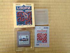 Loopz Game Boy Japan boxed set Nintendo