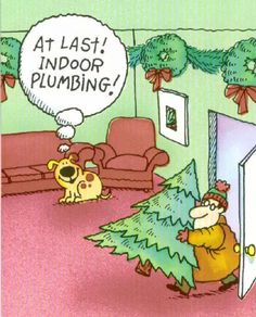 Indoor plumbing. HA! http://www.myh2c.com/                                                                                                                                                                                 More