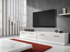 TV-Meubel Diana 2 - Wit - 200 cm