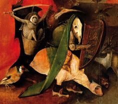 "Hieronymus Bosch medieval surrealism The ""Salvador Dali"" of the Medieval world!"
