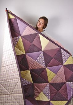 31 Trendy Quilting Designs For Blocks Patchwork You are in the right place about patchwork quilting by hand Here we offer you the most beautiful pictures about the patchwork quilt Quilt Baby, Colchas Quilt, Patch Quilt, Plaid Quilt, Big Block Quilts, Star Quilts, Scrappy Quilts, Easy Quilts, Rag Quilt