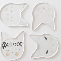 via BKLYN contessa :: handmade porcelain plates