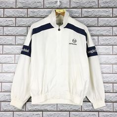 Vintage Sergio Tacchini Sports Tennis Windbreaker Jacket Size L J League, Sport Tennis, Cool Jackets, Windbreaker Jacket, Sweater Jacket, Adidas Jacket, Street Wear, Trending Outfits