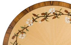 marquetry ginkgo flowers - Google Search