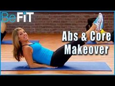 Abs & Core Makeover Workout: Denise Austin- Shrink Belly Fat - YouTube...THIS WAS A FLOOR ABS WORKOUT...NO WEIGHTS...ABOUT 15 MINS....I ACTUALLY LIKED THE STANDING ABS WORKOUT BETTER...